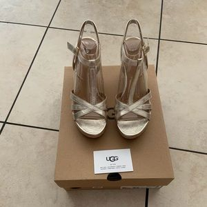 Brand new Ugg wedges